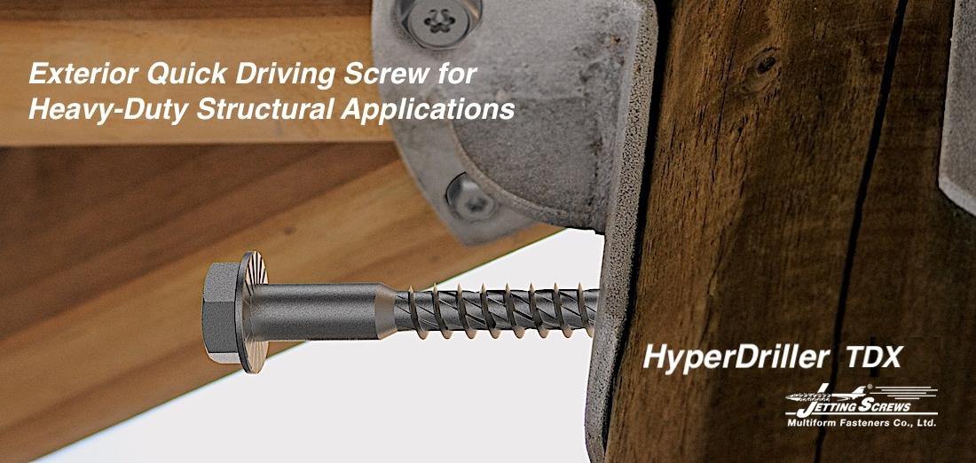 HyperDriller TDX Screw