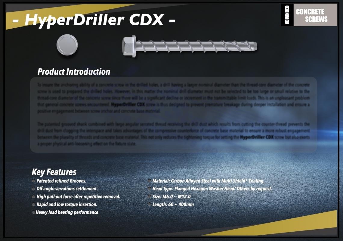 HyperDriller CDX