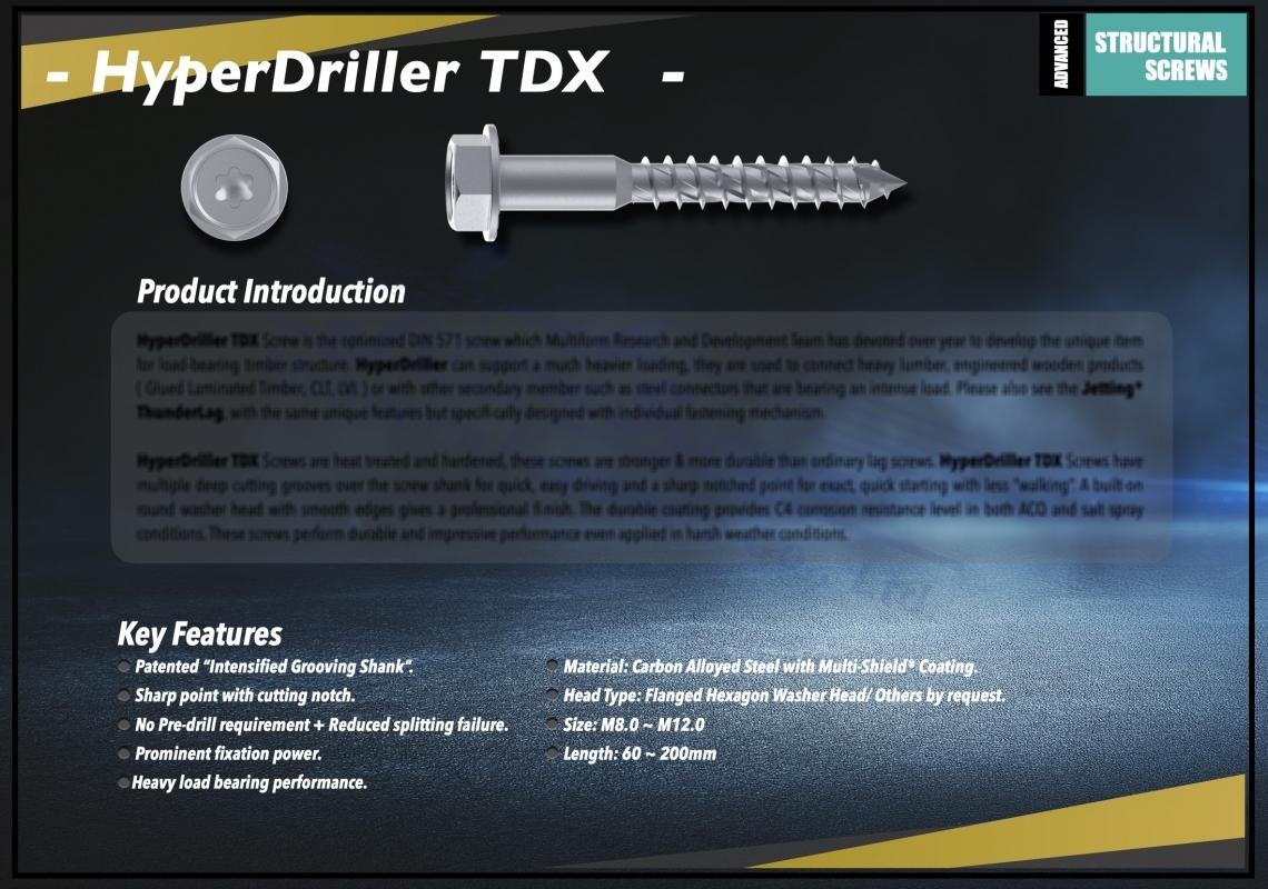 HyperDriller TDX